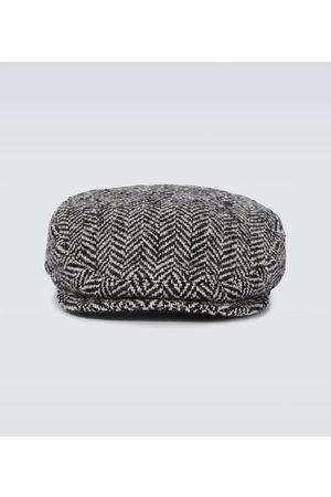 Dolce & Gabbana Cappello in misto lana a spina di pesce
