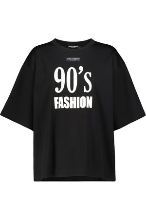 Dolce & Gabbana T-shirt oversize in cotone con stampa