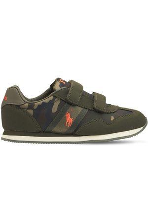 Ralph Lauren Sneakers In Techno Camouflage Con Strap
