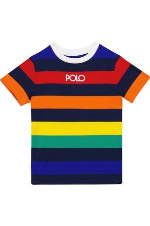 Ralph Lauren T-shirt in jersey cotone a righe