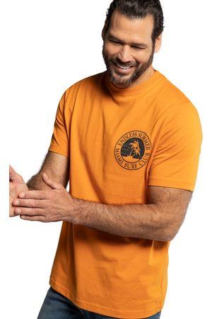 JP 1880 T-shirt mezze maniche con scollo a girocollo e stampa sul retro ispirata al surf