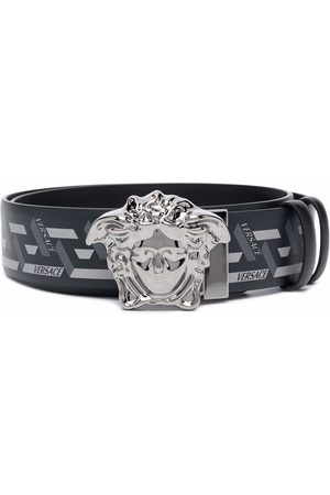 Versace Cintura Medusa Head Greca con stampa