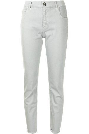 Lorena Antoniazzi Jeans slim con borchie