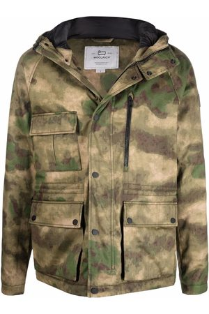 Woolrich Giacca con stampa camouflage