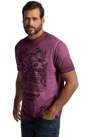 JP 1880 T-shirt in stile Tracht con corna e mezze maniche