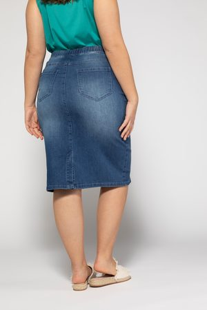Ulla Popken Gonna di jeans
