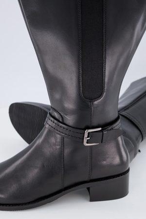 Ulla Popken Stivali di pelle con gambale XXL