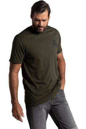 JP 1880 T-shirt mezze maniche con scollo a girocollo e applicazioni