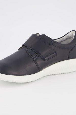 Ulla Popken Donna Sneakers - Sneakers di pelle Jomos con linguetta con chiusura a strappo
