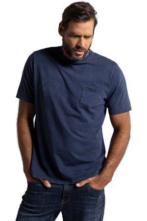 JP 1880 Uomo Polo - T-shirt di jersey fiammato dal look unico in stile vintage con mezze maniche