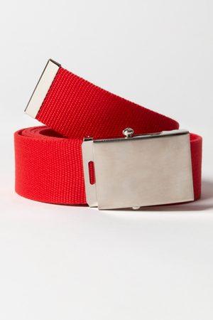 JP 1880 Cintura in tessuto con fibbia in metallo