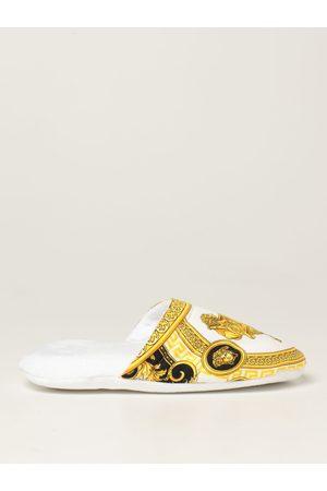 Versace Home Pantofola in cotone con stampa La Coupe des Dieux