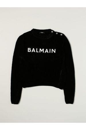 Balmain Maglia in cotone con logo
