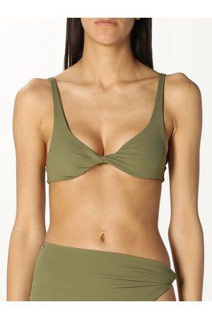 The Attico Top bikini in tessuto opaco