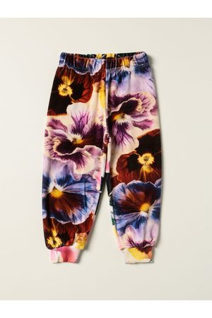 Molo Pantalone jogging a fantasia floreale