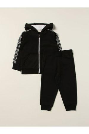 Moncler Set felpa + pantalone jogging in cotone