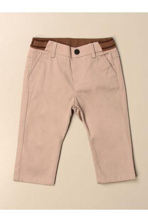 Fendi Pantalone Chino con fascia e logo FF