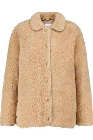 Burberry Giacca in pile di misto lana