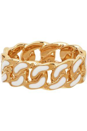A.P.C. Gold & White Sam Ring