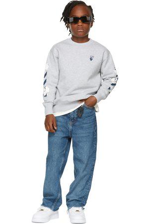Off-White Felpe - Kids Grey Marker Sweatshirt