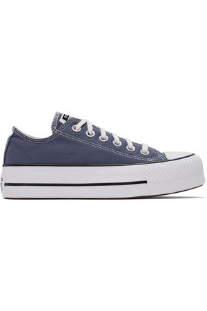 Converse Donna Sneakers - Grey Chuck Taylor All Star Lift Low Sneakers