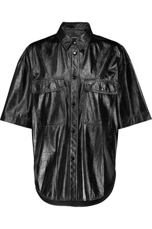 Isabel Marant Camicia Gilina in similpelle
