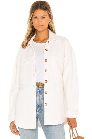 MONROW Donna Giacche di pile - Teddy Fleece Shacket in - . Size L (also in XS, S, M).