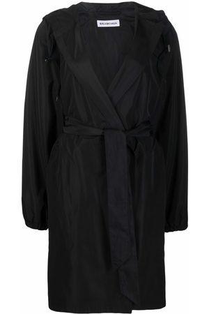 Balenciaga Donna Impermeabili - Impermeabile con cappuccio