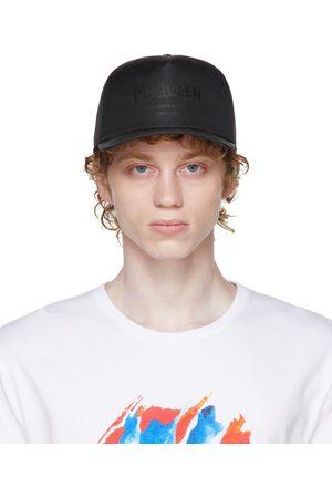Alexander McQueen Uomo Cappelli con visiera - Black Graffiti Baseball Cap