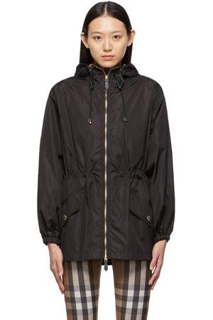 Burberry Nylon Check Hood Binham Jacket