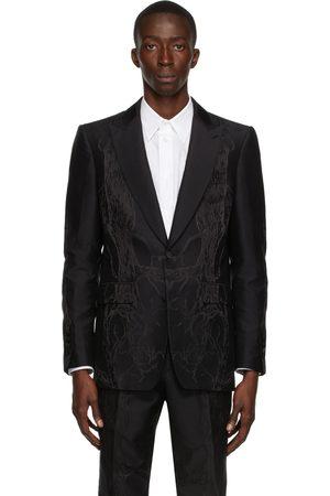 Burberry Silk Jacquard Tailored English Fit Blazer