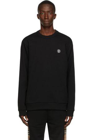 Burberry Monogram Motif Appliqué Sweatshirt