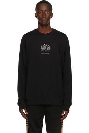 Burberry Embroidered Deer Sweatshirt