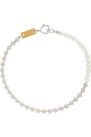 IN GOLD WE TRUST PARIS Pearl Choker Necklace
