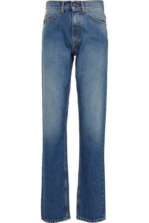 Maison Margiela Donna Jeans a vita alta - Jeans regular a vita alta
