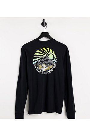 Element In esclusiva per ASOS - - Balmore - Maglietta nera a maniche lunghe