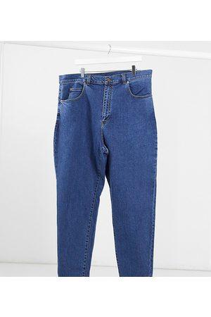Dr Denim Plus Donna Boyfriend jeans - Nora - Mom jeans a vita molto alta lavaggio medio