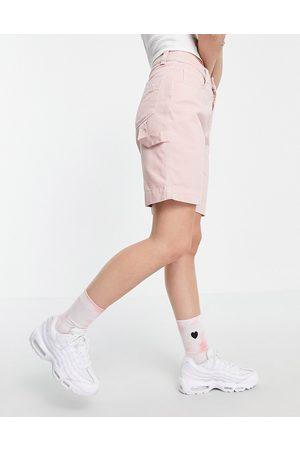 Kickers Pantaloncini stile militare con logo su una tasca