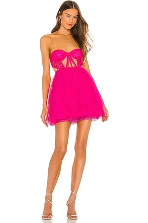 For Love & Lemons X REVOLVE Bustier Mini Dress in - . Size L (also in S, XS, M, XL).