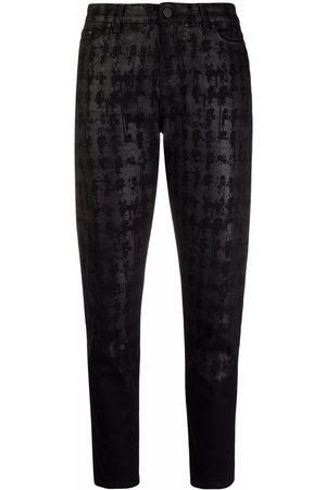 Karl Lagerfeld Jeans affusolati con stampa astratta