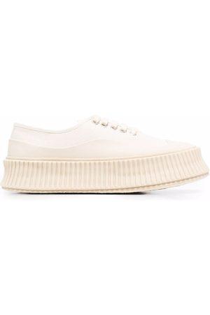 Jil Sander Sneakers chunky a coste - Toni neutri