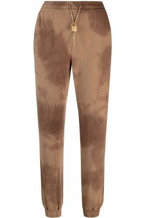 Pinko Donna Pantaloni sportivi - Pantaloni sportivi con fantasia tie dye