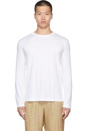 DRIES VAN NOTEN White Supima Cotton Long Sleeve T-Shirt