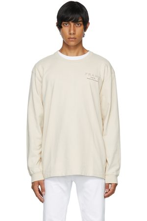 Museum Of Peace & Quiet Uomo Top - Beige Frame Edition Logo Long Sleeve T-Shirt