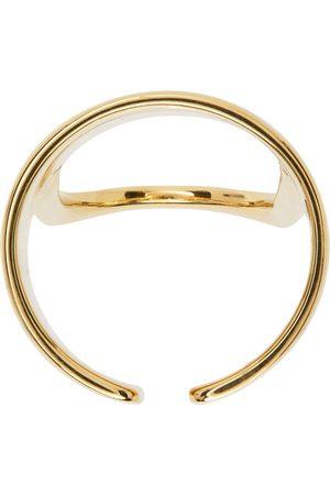 RÄTHEL & WOLF Gold Gabriel Fingertip Cut Out Ring