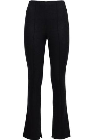 GIORGIO ARMANI Donna Eleganti - Pantaloni Skinny In Jersey Di Misto Lana