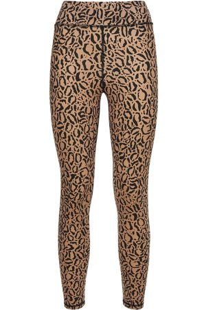 THE UPSIDE Leggings Vita Alta Leopard