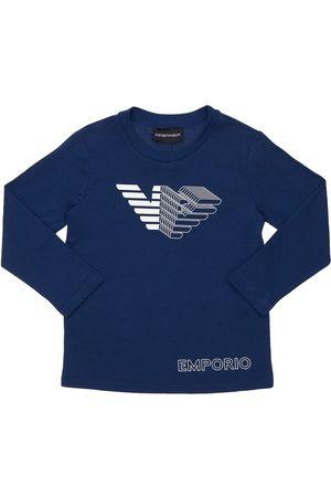 EMPORIO ARMANI T-shirt In Jersey Di Cotone