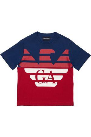 EMPORIO ARMANI T-shirt In Jersey Di Cotone Con Logo