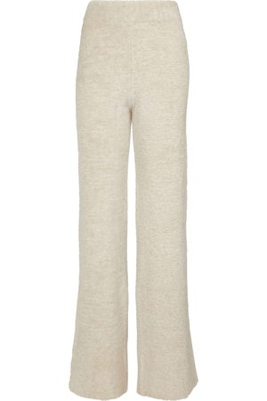 Palm Angels Pantaloni sportivi in lana bouclé